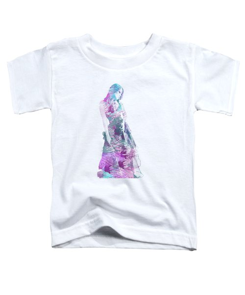 Viva La Vida Toddler T-Shirt by Linda Lees