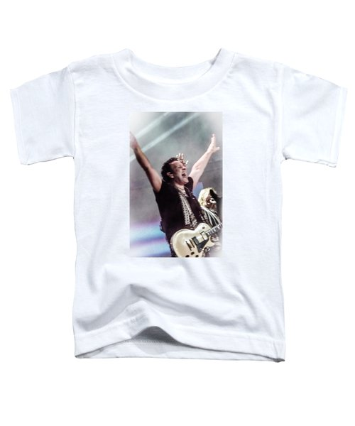 Vivian Campbell - Campbell Tough Toddler T-Shirt by Luisa Gatti