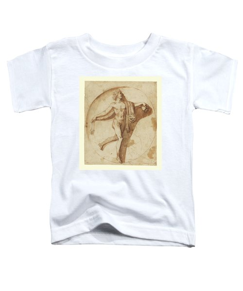 Votary Of Bacchus By Nicolas Poussin Toddler T-Shirt