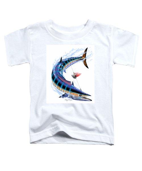 Wahoo Digital Toddler T-Shirt by Carey Chen