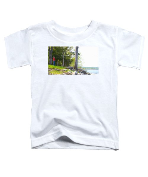 Waiting Ashore Toddler T-Shirt
