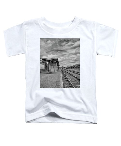 Waiting For The Train Toddler T-Shirt