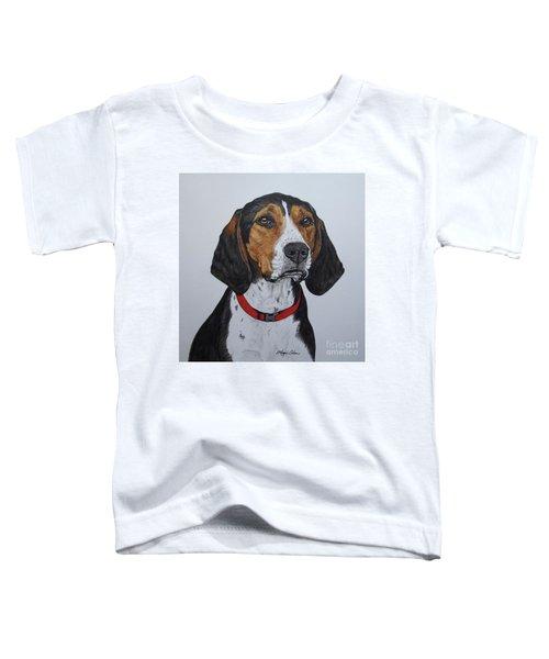 Walker Coonhound - Cooper Toddler T-Shirt by Megan Cohen