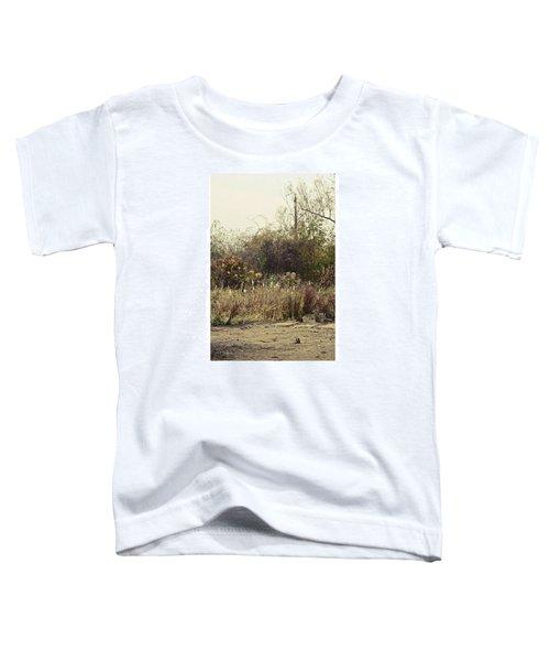 Walking By The Lake  #landscape #lake Toddler T-Shirt