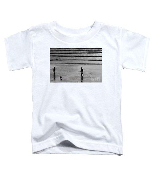 Walking The Dog At Marazion Toddler T-Shirt