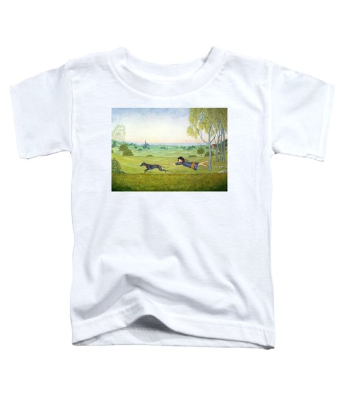 Walking The Dog  Toddler T-Shirt