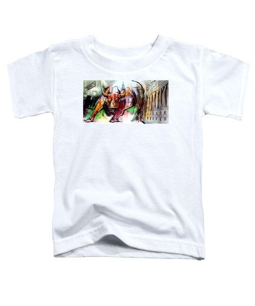 Wall Street New Money Toddler T-Shirt