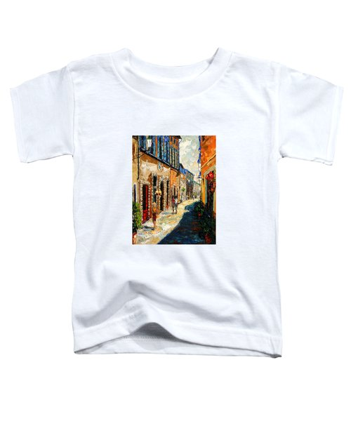 Warmth Of A Barcelona Street Toddler T-Shirt by Andre Dluhos