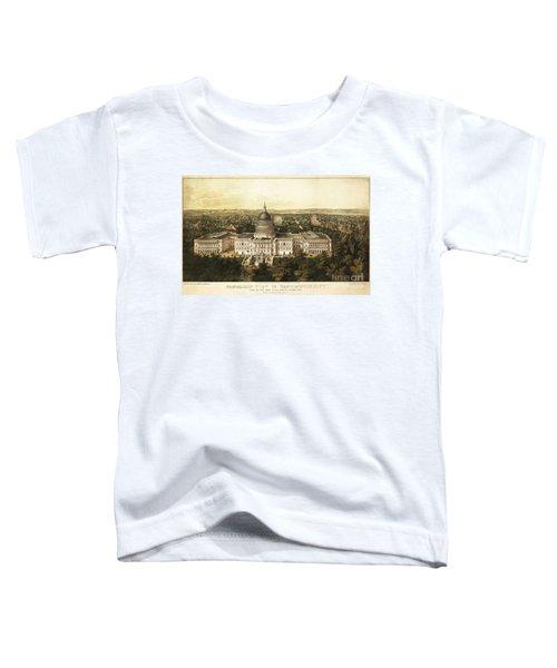Washington City 1857 Toddler T-Shirt by Jon Neidert