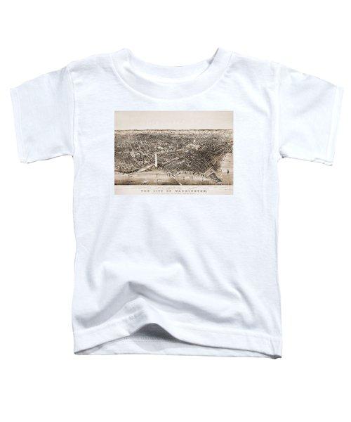Washington D.c., 1892 Toddler T-Shirt by Granger