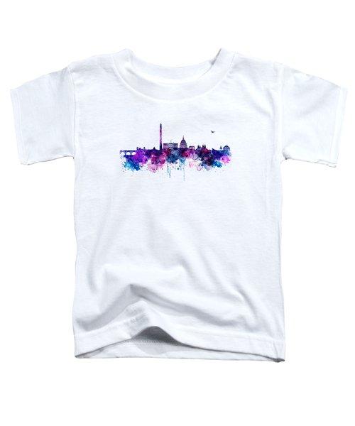 Washington Dc Skyline Toddler T-Shirt