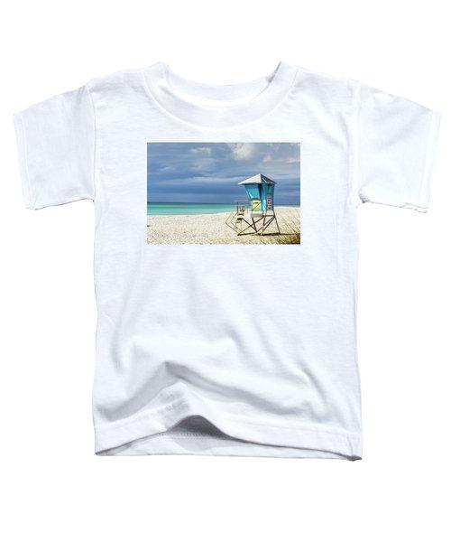 Lifeguard Tower Florida Gulf Coast Toddler T-Shirt