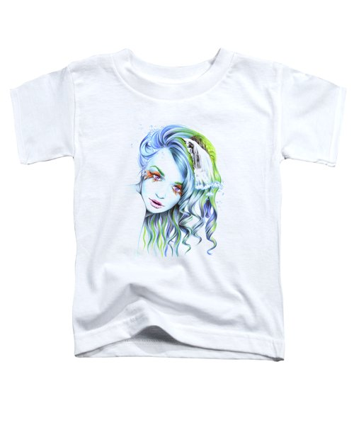 Water Toddler T-Shirt by E Drawings