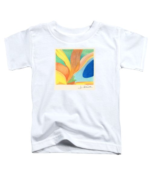 Water Grass Blue Pond Toddler T-Shirt