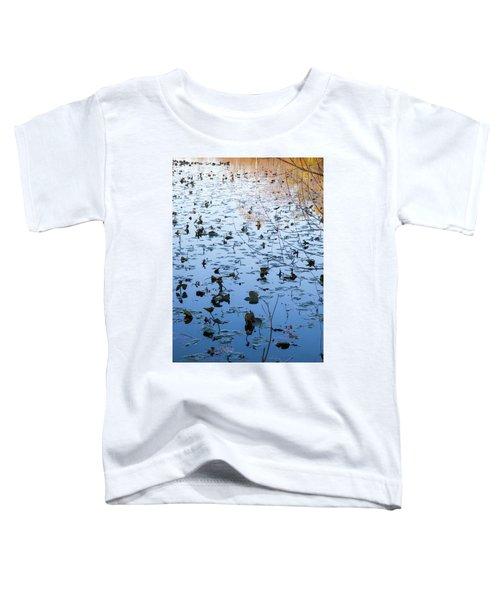 Water Lilies Autumn Song Toddler T-Shirt