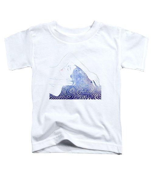 Water Nymph Lxxix Toddler T-Shirt by Stevyn Llewellyn