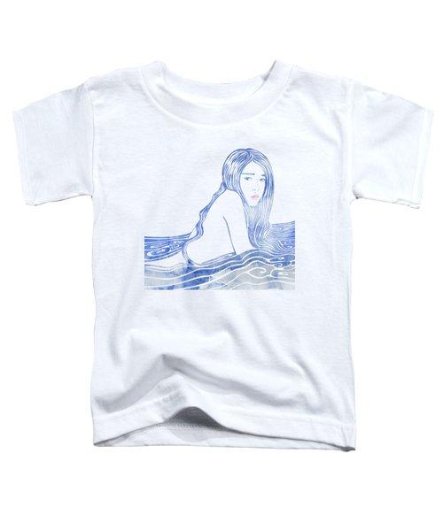Water Nymph Lxxvi Toddler T-Shirt by Stevyn Llewellyn