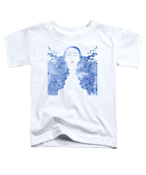 Water Nymph Lxxx Toddler T-Shirt by Stevyn Llewellyn