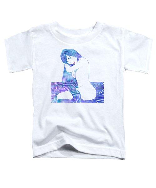 Water Nymph Lxxxii Toddler T-Shirt by Stevyn Llewellyn