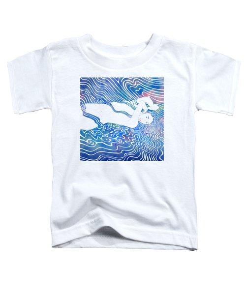Water Nymph Lxxxiii Toddler T-Shirt by Stevyn Llewellyn