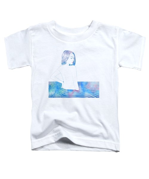 Water Nymph Lxxxiv Toddler T-Shirt by Stevyn Llewellyn