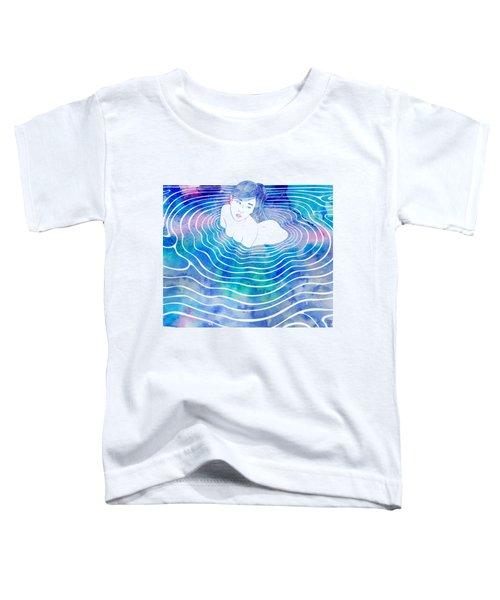 Water Nymph Lxxxix Toddler T-Shirt by Stevyn Llewellyn
