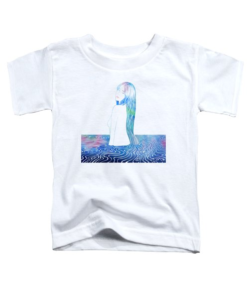 Water Nymph Lxxxv Toddler T-Shirt by Stevyn Llewellyn