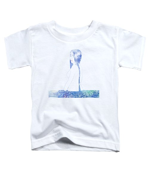 Water Nymph Xcii Toddler T-Shirt by Stevyn Llewellyn
