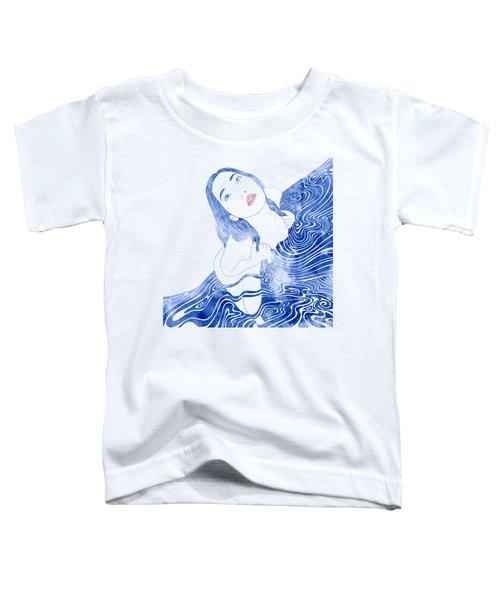 Water Nymph Xcvii Toddler T-Shirt by Stevyn Llewellyn