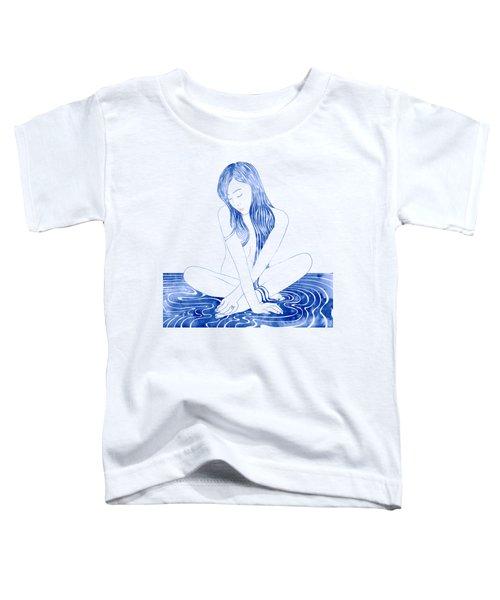 Water Nymph Xcviii Toddler T-Shirt by Stevyn Llewellyn