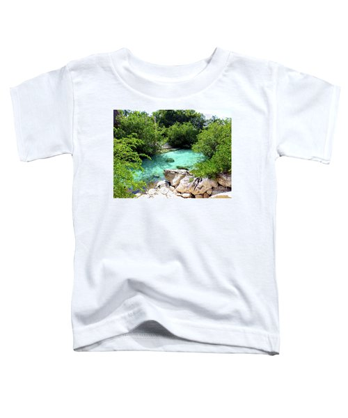 Toddler T-Shirt featuring the photograph Water Shallows by Francesca Mackenney