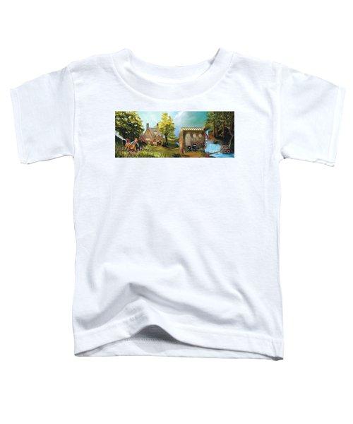 Water Wheel Toddler T-Shirt