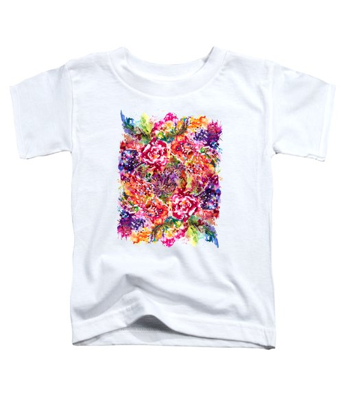 Watercolor Garden IIi Toddler T-Shirt