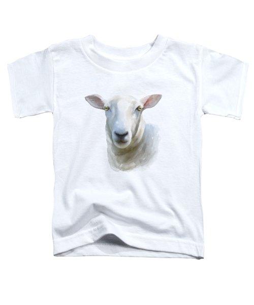 Watercolor Sheep Toddler T-Shirt