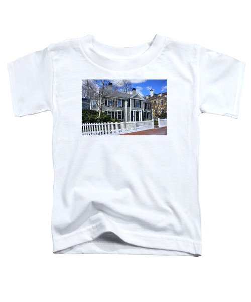 Waterhouse House In Cambridge Toddler T-Shirt