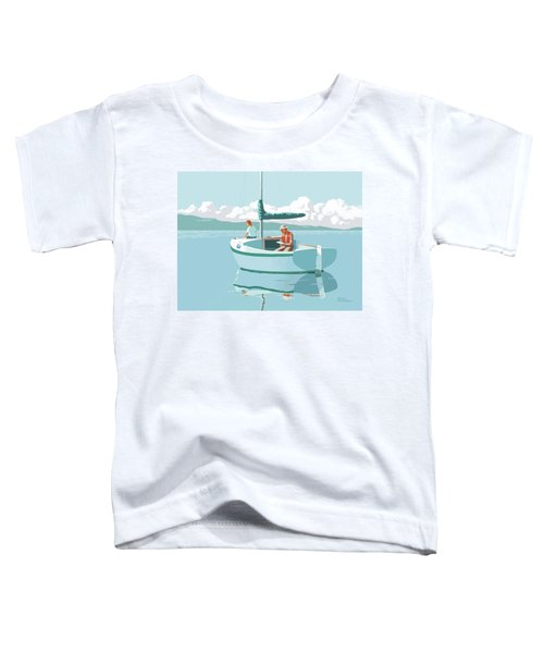 Wating For The Wind Toddler T-Shirt
