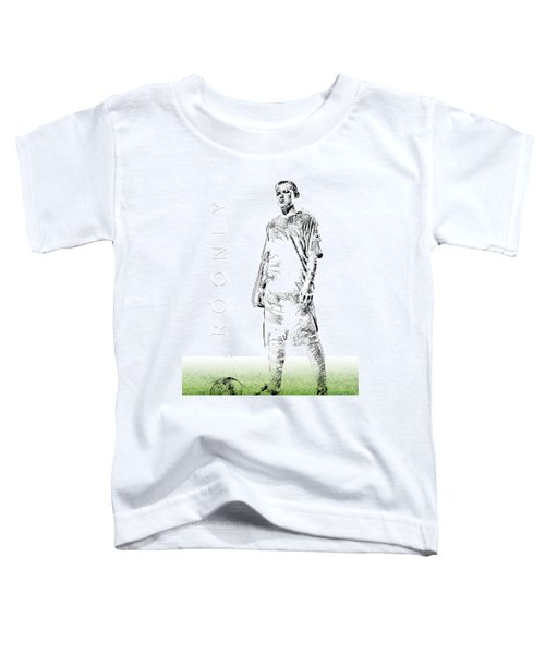 Wayne Rooney Toddler T-Shirt by ISAW Gallery