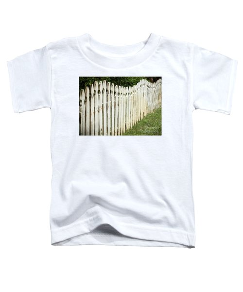 Weathered Fence Toddler T-Shirt