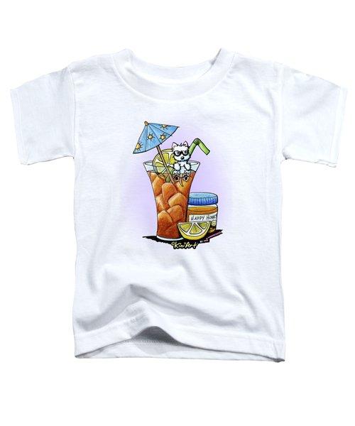 West Highland Iced Tea Toddler T-Shirt