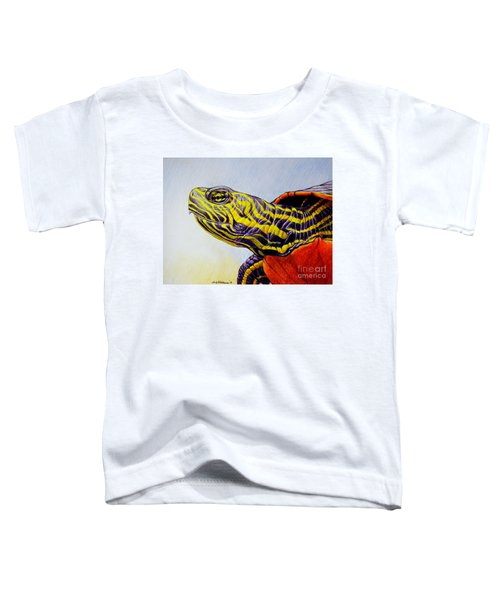 Western Painted Turtle Toddler T-Shirt