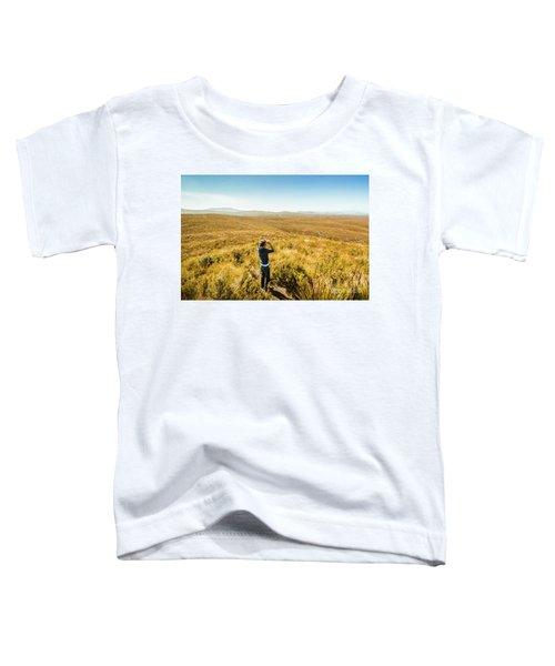 Western Plains Of Tasmania Toddler T-Shirt