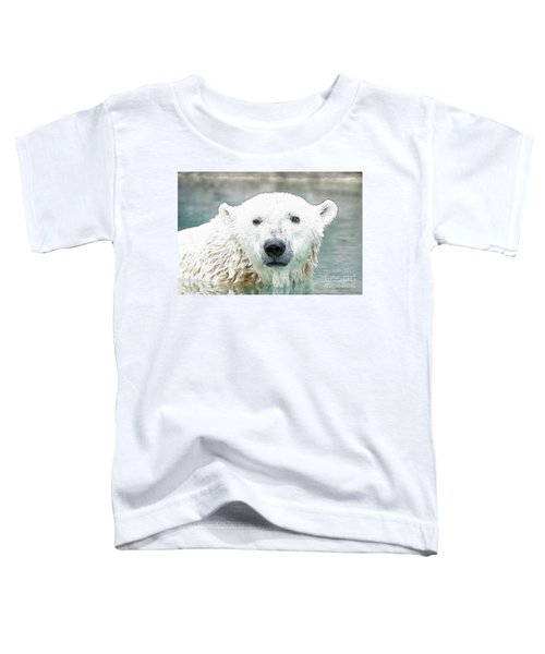 Wet Polar Bear Toddler T-Shirt