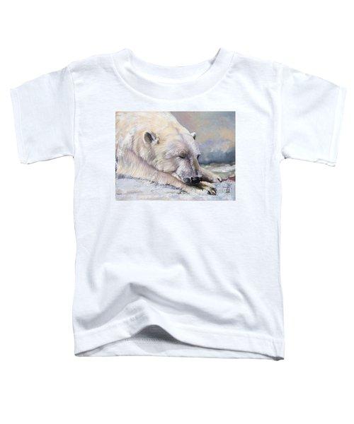 What Do Polar Bears Dream Of Toddler T-Shirt
