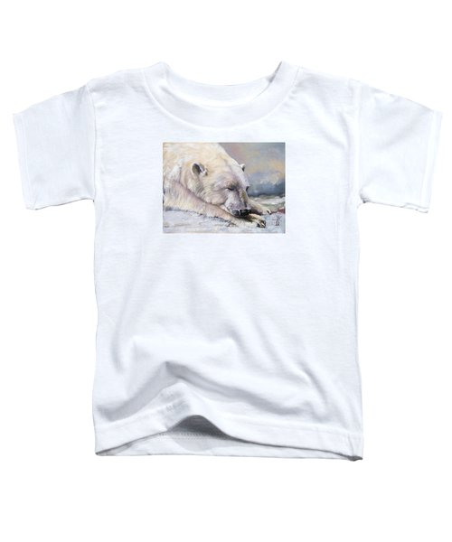 What Do Polar Bears Dream Of Toddler T-Shirt