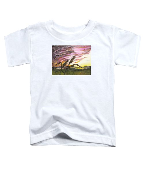 Wheat Field Toddler T-Shirt