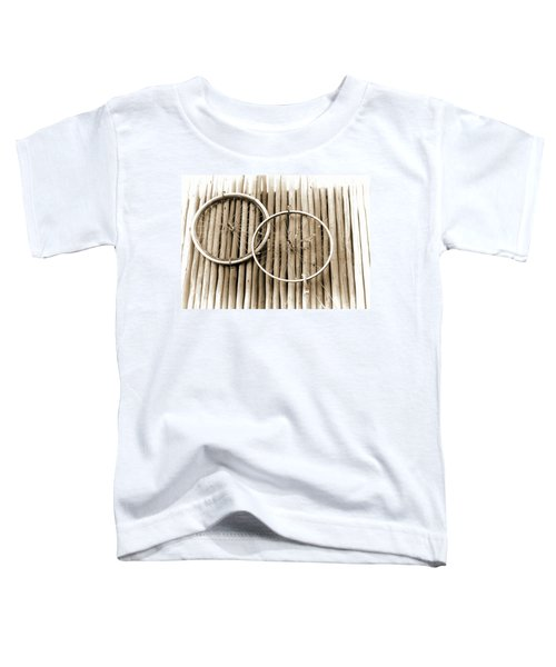 Wheels On Bamboo Toddler T-Shirt