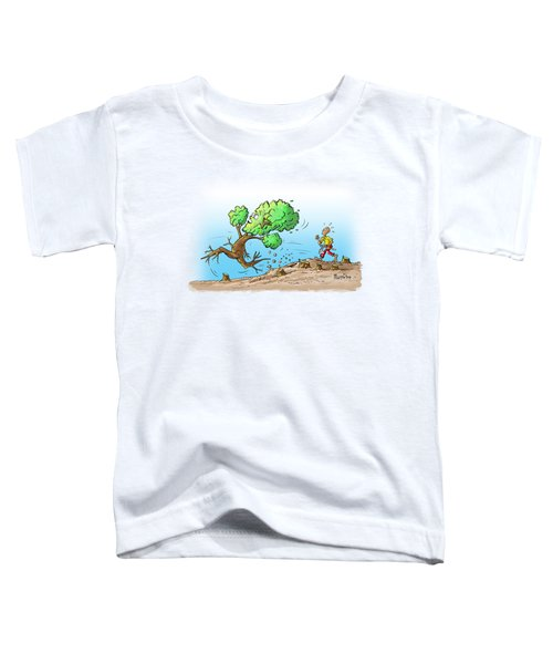 When The Going Gets Tough Toddler T-Shirt