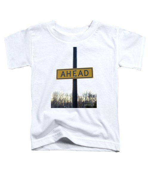 Where The Great Unknown Lies Toddler T-Shirt
