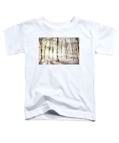 Whispering Woodland In Autumn Fall Toddler T-Shirt