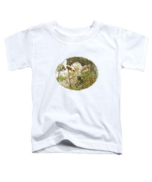 White Calf In Sticks Toddler T-Shirt